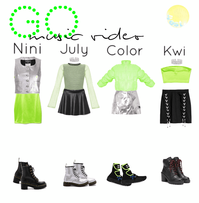 Go|music video outfits|4est|
