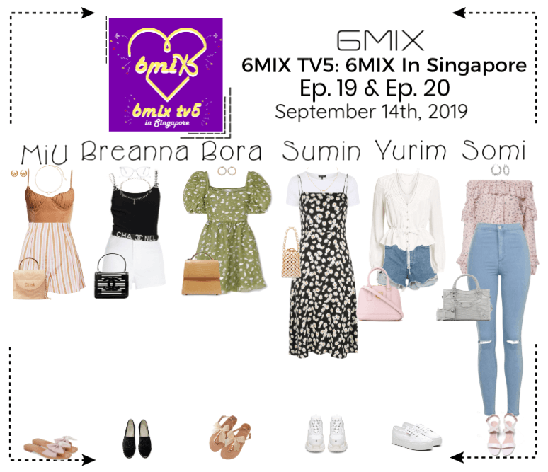 《6mix》6MIX TV5: 6MIX In Singapore- Ep. 19 & Ep. 20