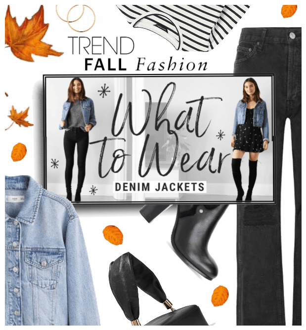 Fall Trend: How to wear a Denim Jacket