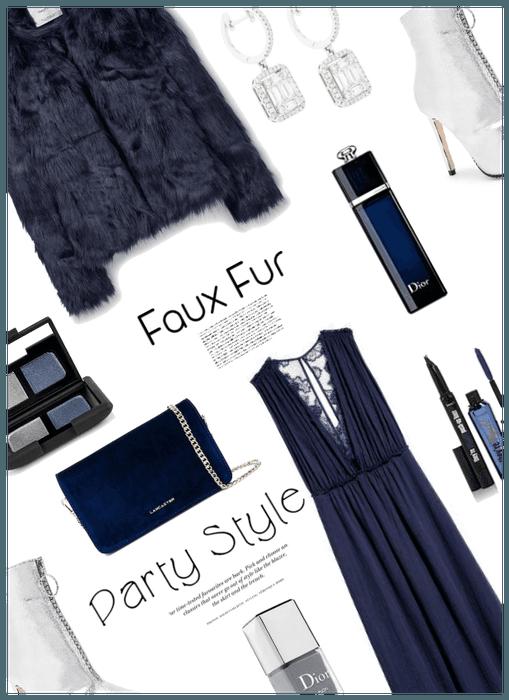 Faux Fur/Party Style