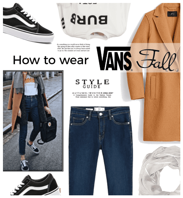 How to wear:  Vans in the Fall