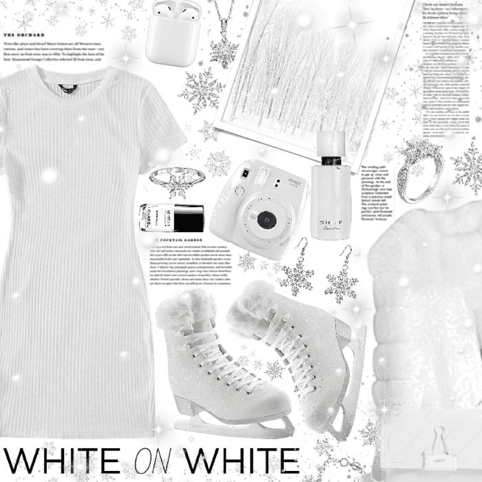 white on white 🤍❄️