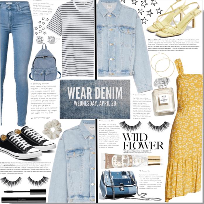 Nat. Denim Day: Dress it Up, And Dress It Down.