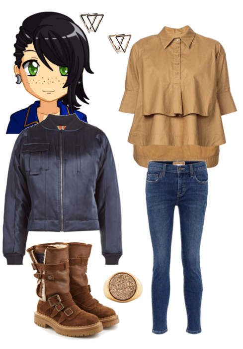 Hogwarts House Styles- Ravenclaw Casual