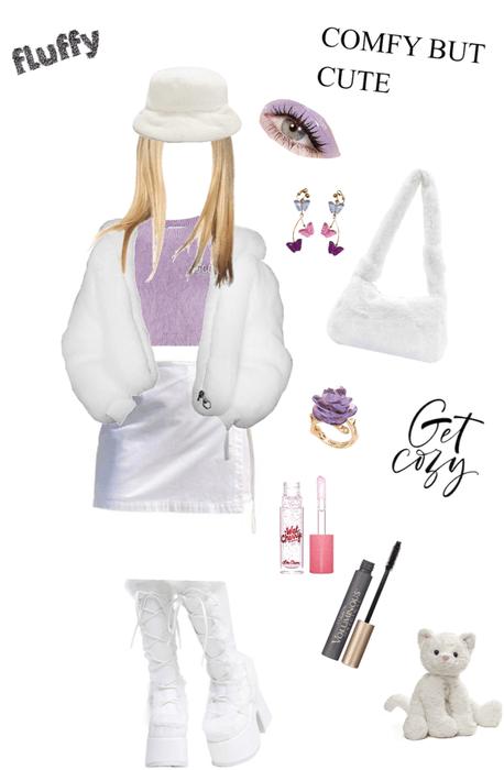 fluffy white 🎶