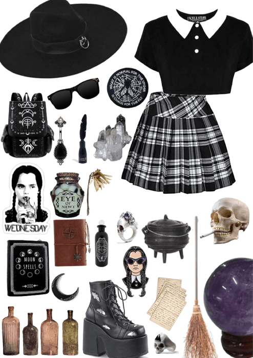 Wednesday Addams Witch