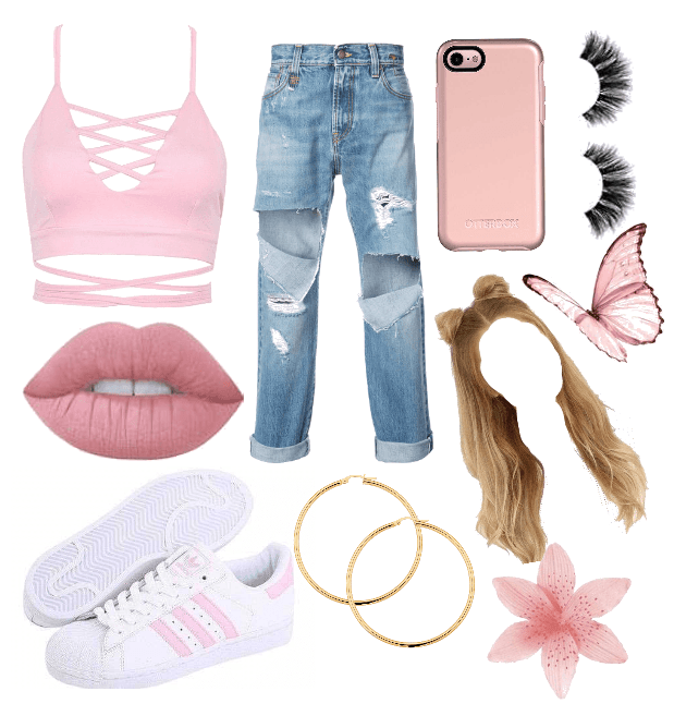 Pink Trendy Outfit