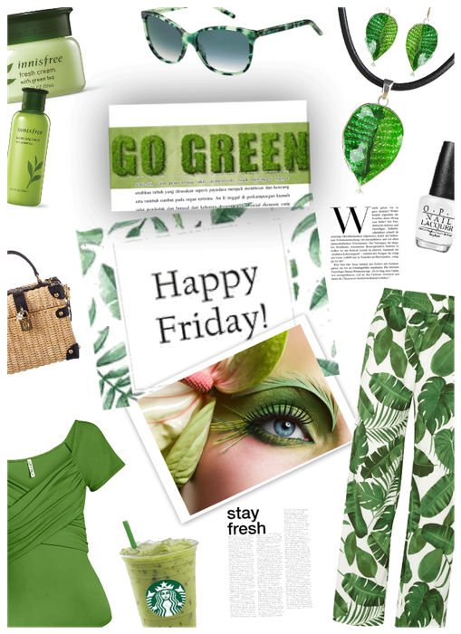 Happy Friday! Go Green for Spring