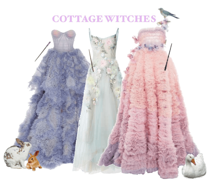 fancy cottage witches