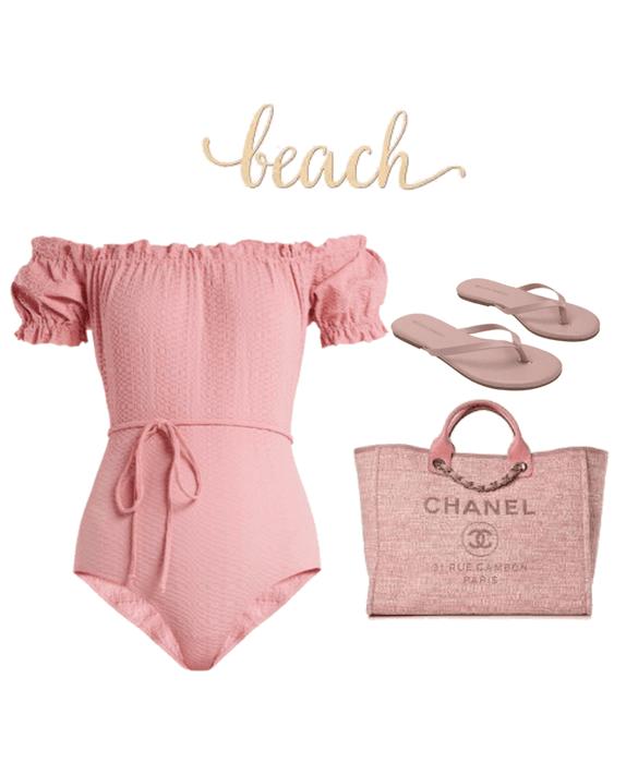 pink beach 🏖