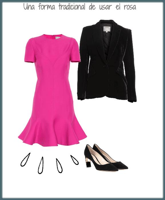 Formas clásica de usar la tendencia #rosa