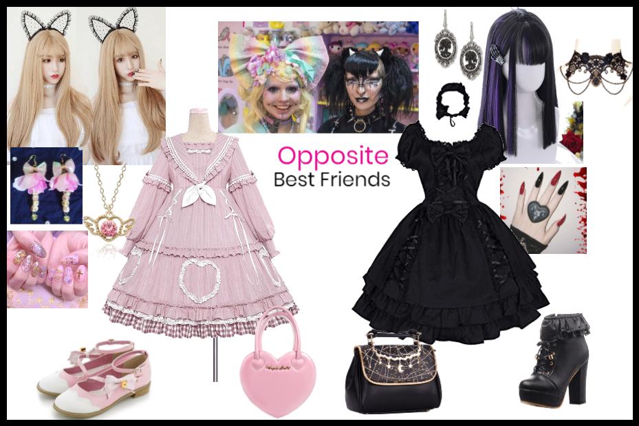 Opposite Lolita Best Friends