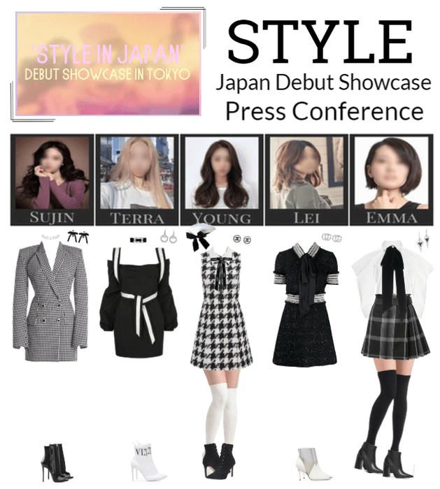 "STYLE ""STYLE in Japan"" Press Conference"