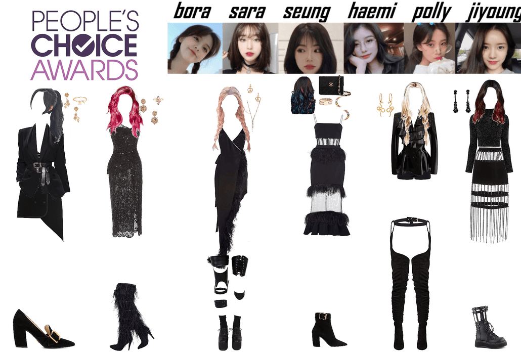Alice E! Peoples Choice Awards Runway