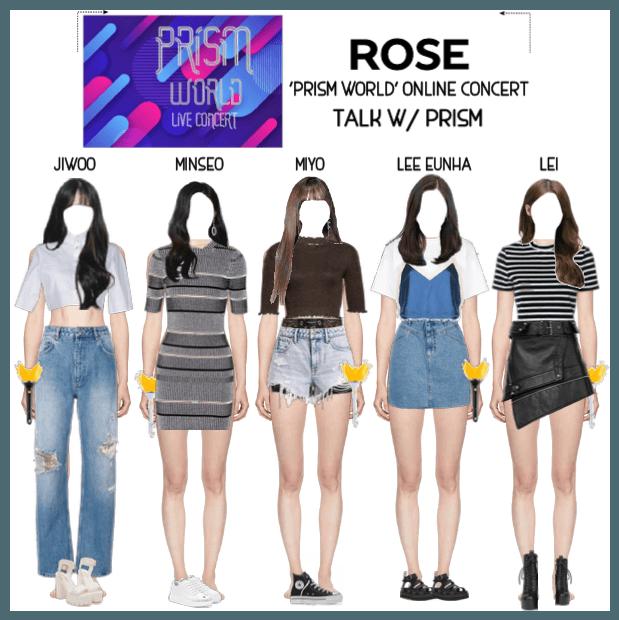 {RoSE} 'PRISM WORLD' Online Concert