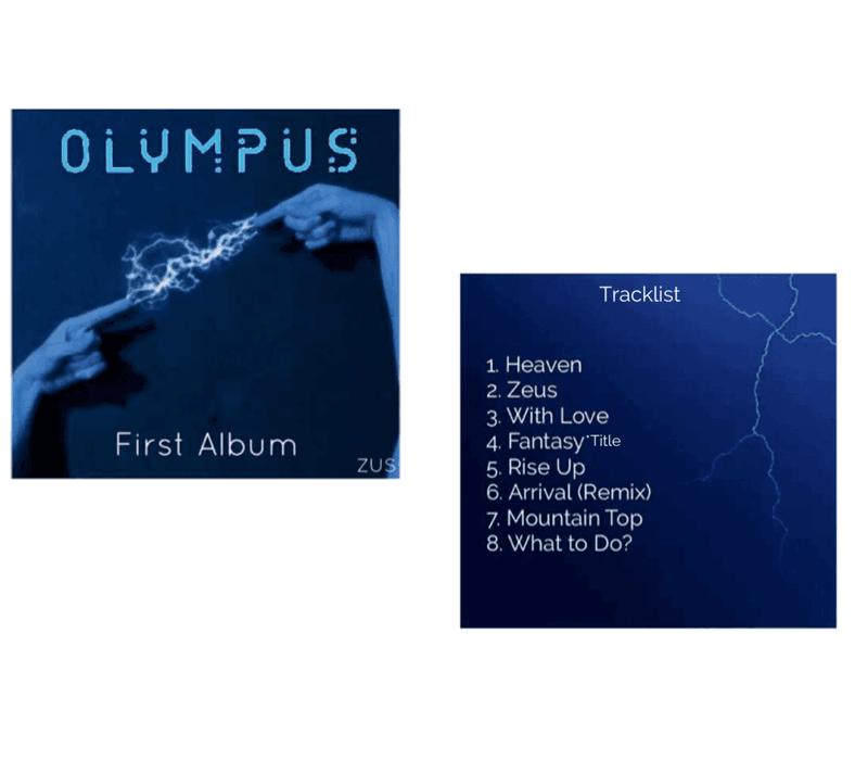 ZUS//Olympus First Full Album