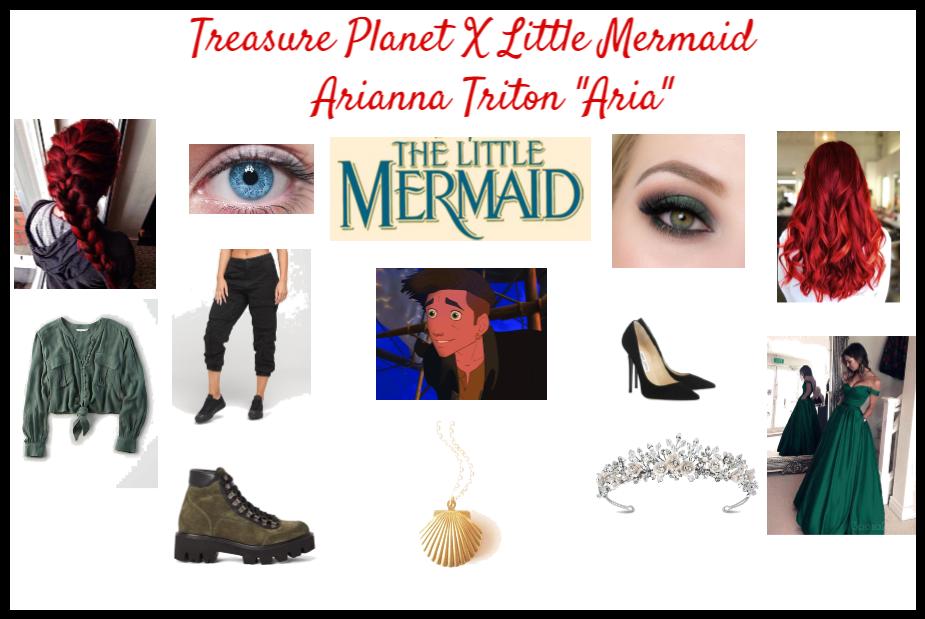 Treasure Planet X Little Mermaid Arianna Triton