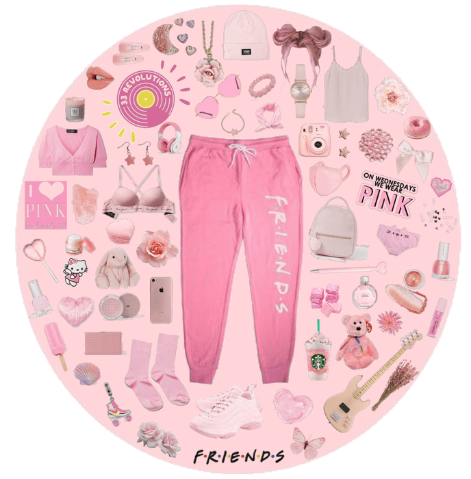 Casual 90s Pink Vibes