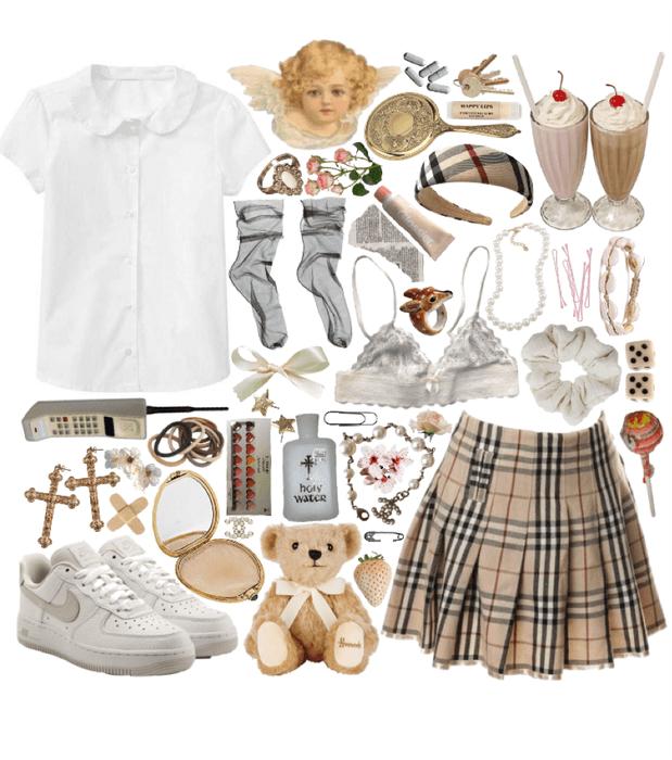 catholic school girl of the 90s