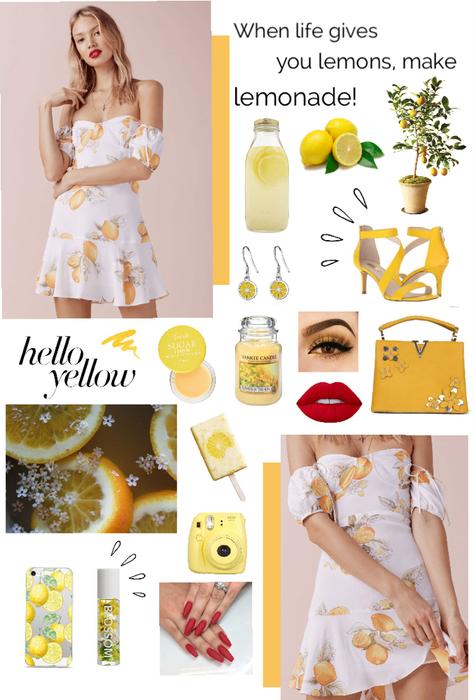When life gives you lemons, make lemonade🍋💛