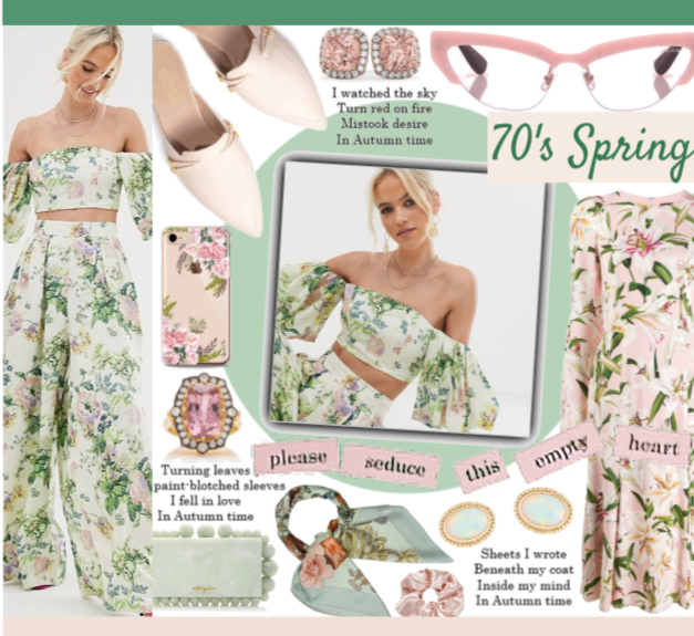 70's Inspired Spring Trend