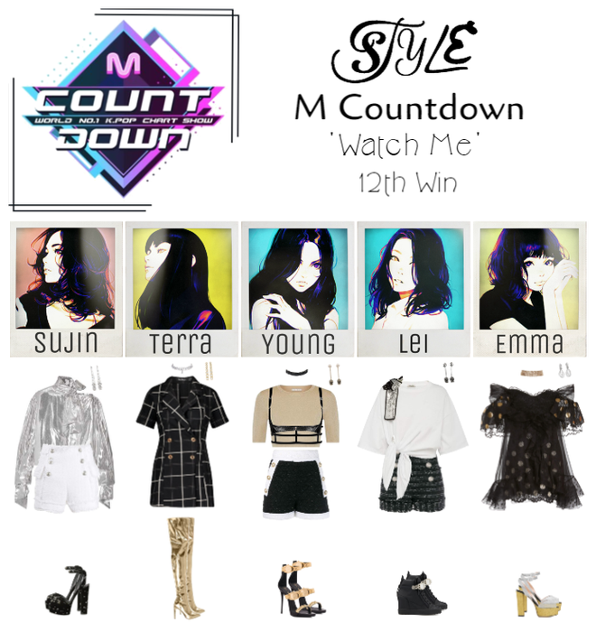 M Countdown 'Watch Me' 12th Win