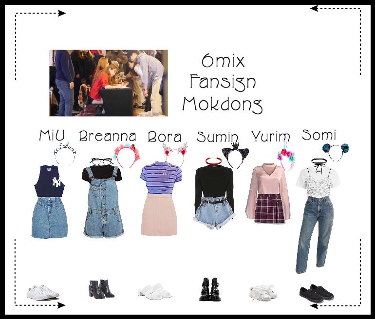 《6mix》Mokdong Fansign