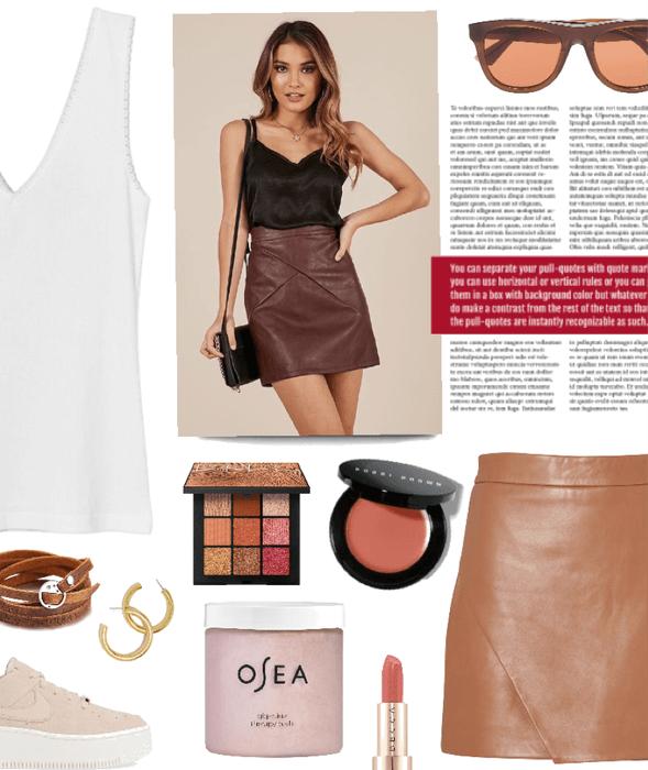 mini skirt magnificence