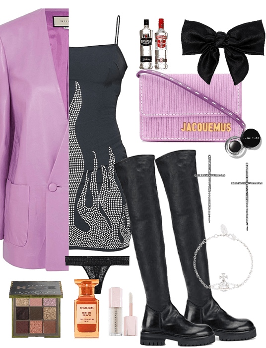 (ophelia bridgers) club outfit — december 2020