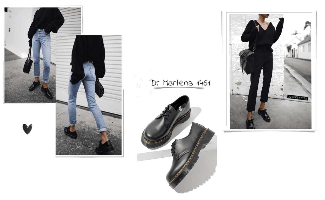 dr martens 1461 Outfit   ShopLook