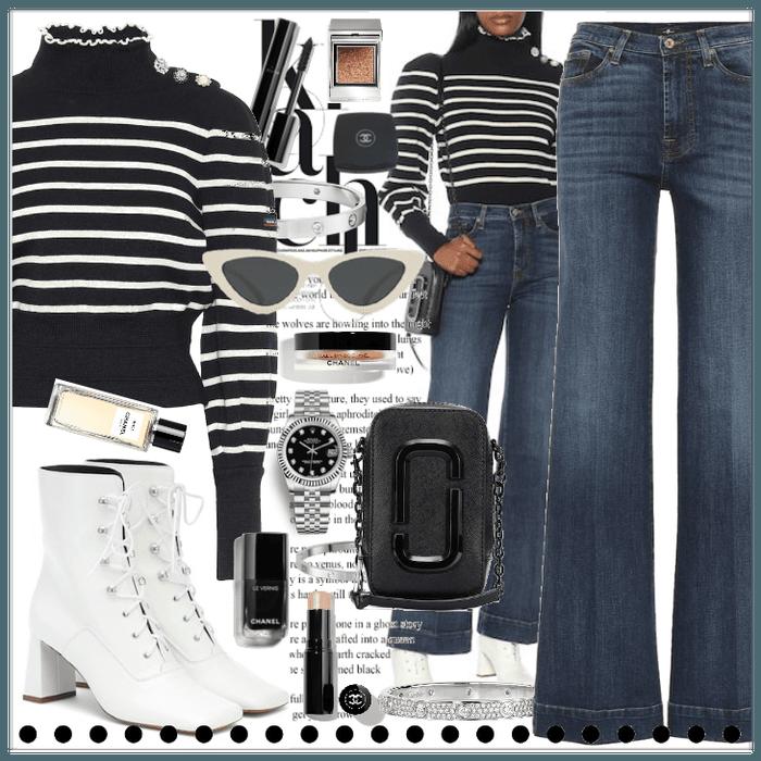 Marc Jacobs x Armor-Lux striped virgin wool sweat
