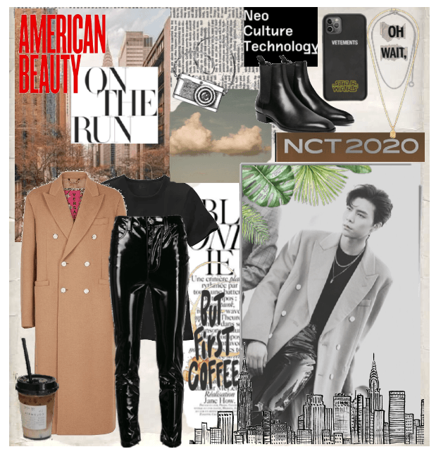 Johnny NCT Inspired Outfit