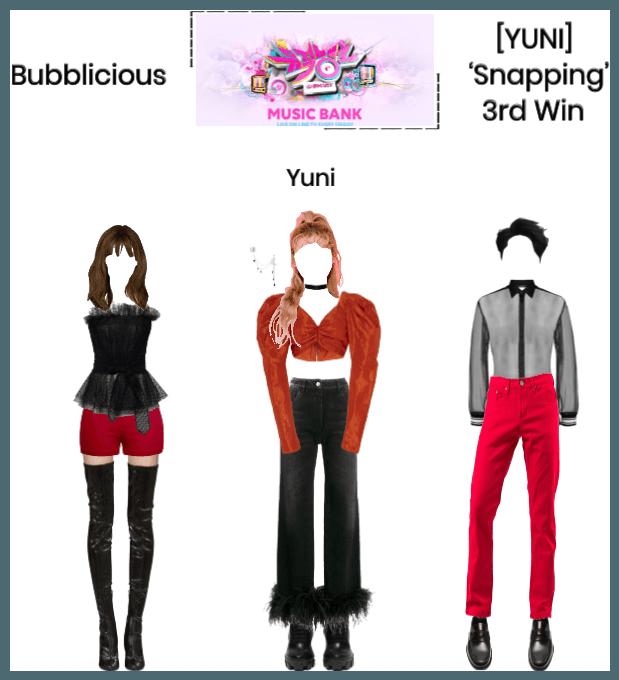Bubblicious (신기한) [YUNI] 'Snapping' 3rd Win