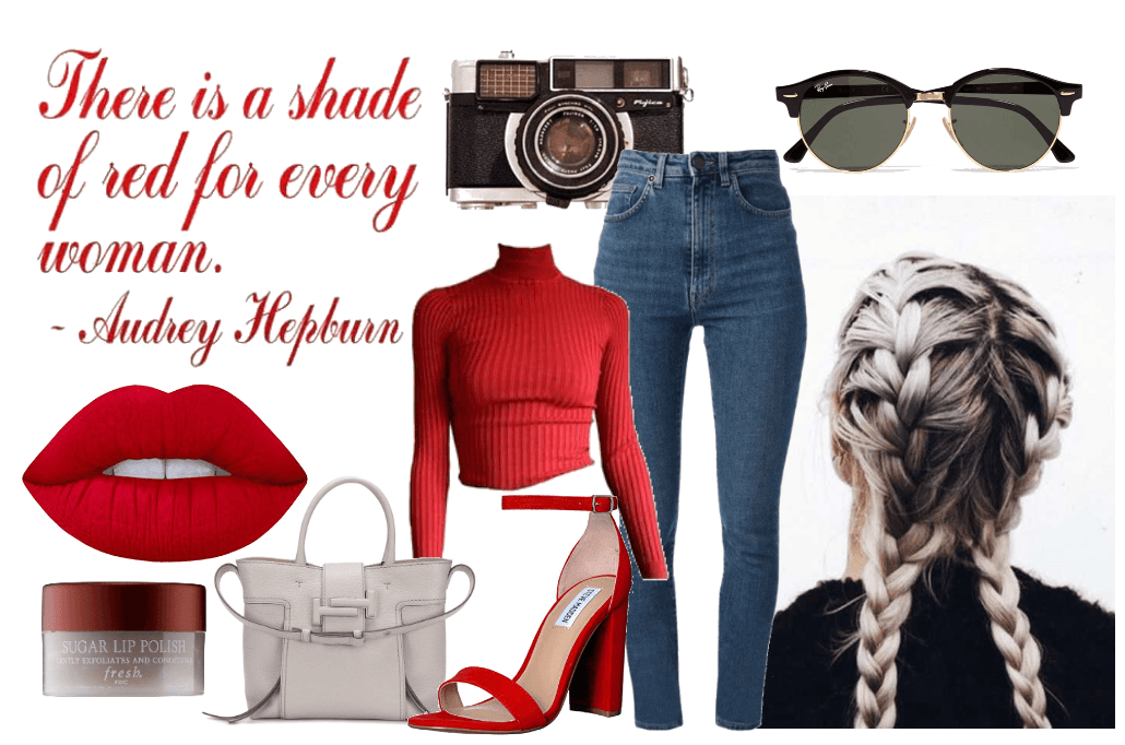 The Shades Of Red Outfit Shoplook