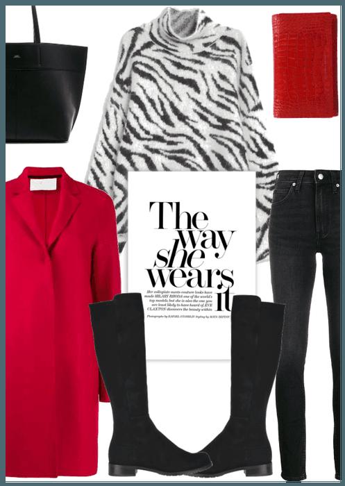 Red Coat 3 Ways: Look 1
