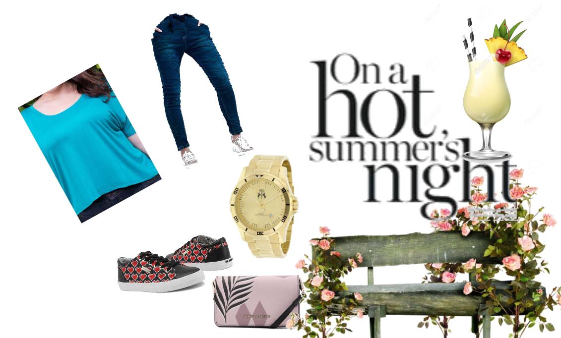 Hot in summer nights.