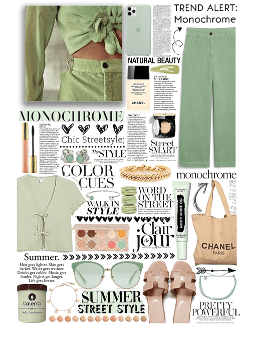 summer monochrome 💚