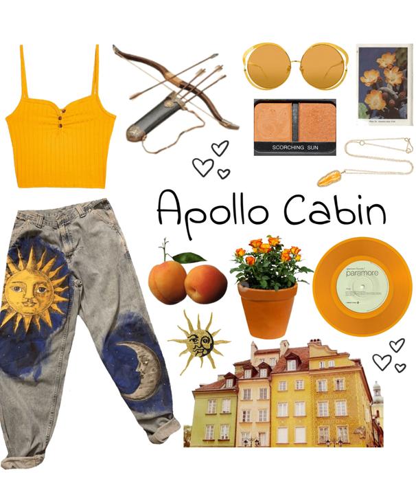 APOLLO CABIN: The Artsy Archery Girl