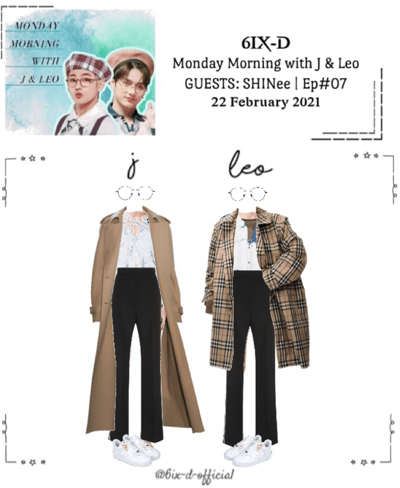 6IX-D [식스디] Monday Morning's with J & Leo 210222