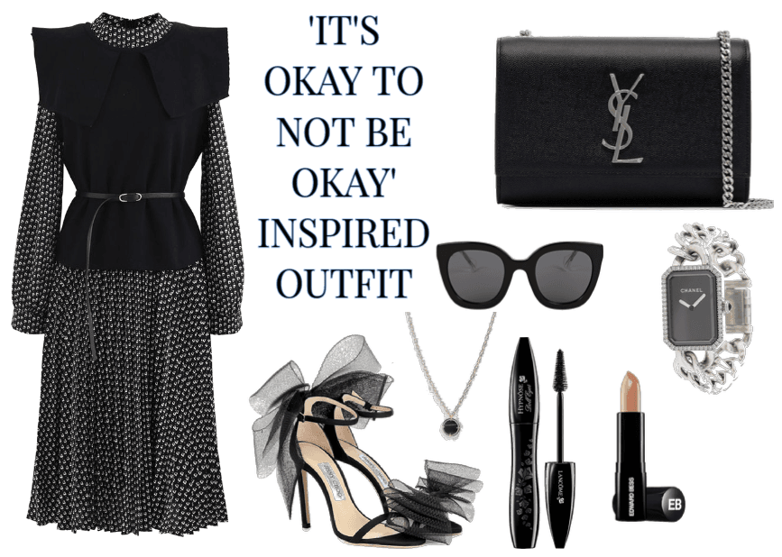ITS'S OKAY TO NOT BE OKAY INSPIRED OUTFIT