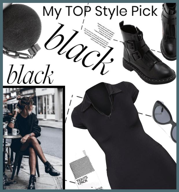 My Top Style Pick (Black)