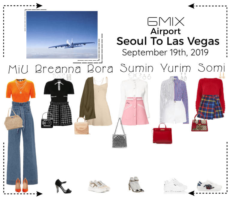 《6mix》Airport | Seoul To Las Vegas