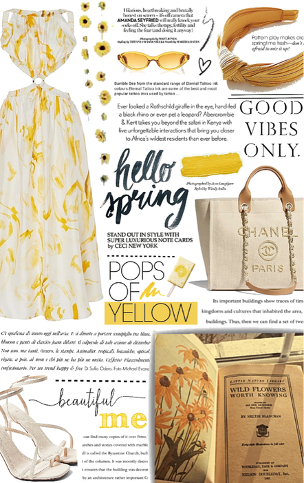 yellow spring vibes only.