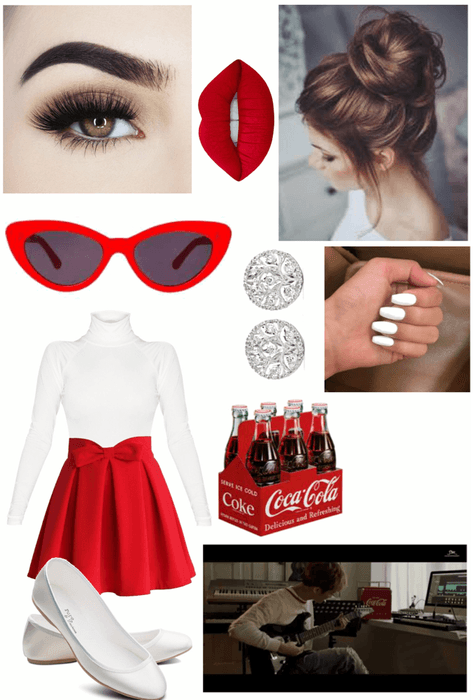 """NCT Taste the Feeling """"Coca Cola"""" Outfit"""