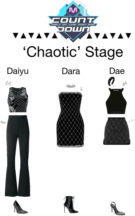 {3D}Chaotic Mnet Countdown Stage
