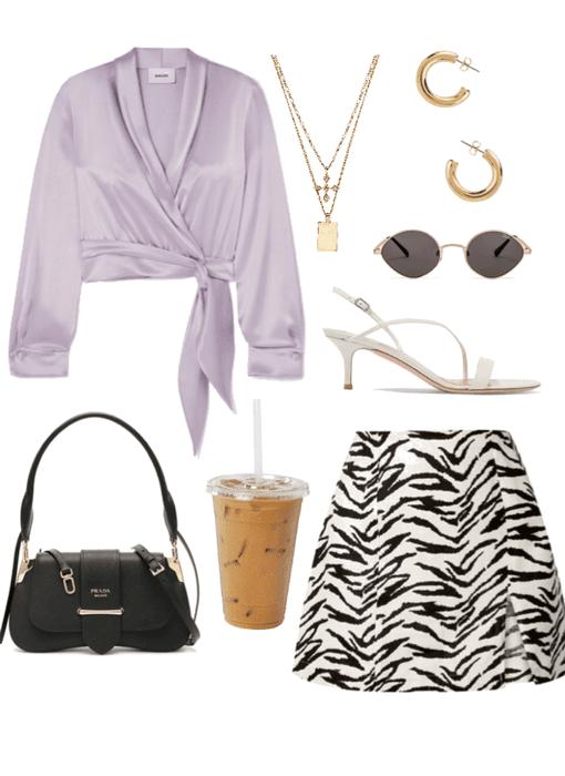 purple/zebra