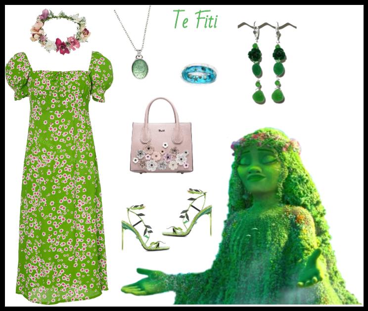 Te Fiti outfit - Disneybounding