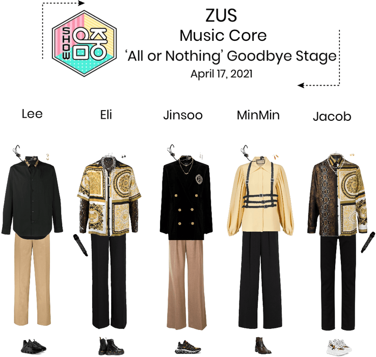 ZUS//'All or Nothing' Music Core Goodbye Stage