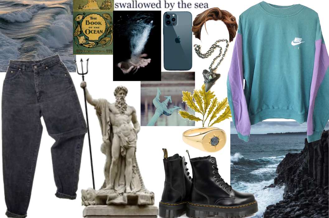 Poseidon aesthetic 🤎 the sea   gods