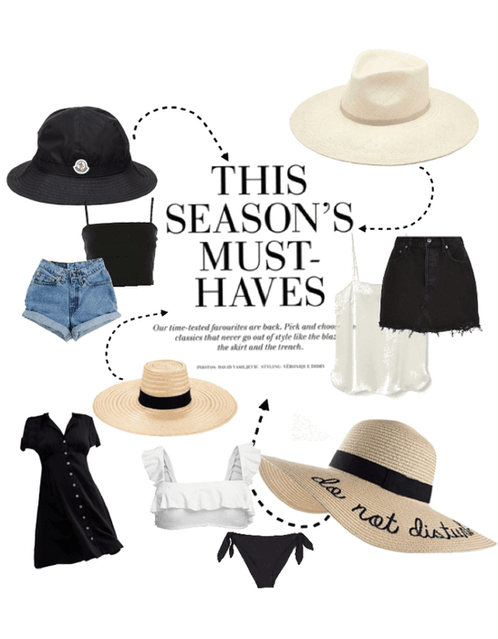 SUMMER HAT OUTFITS